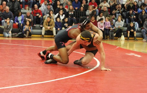 Wrestling Team Clinches Patriot Division Title with 19-0 Record