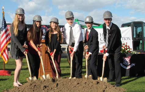 "CHS Faculty and Students Gather to Celebrate ""Groundbreaking Ceremony"""