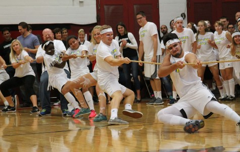 Junior Class and Faculty Members Win a Closely-Fought Battle for the Tug of War Title