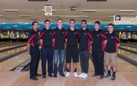 The boys bowling squad only contains one senior this year, and so it looks to be in good shape for next season.