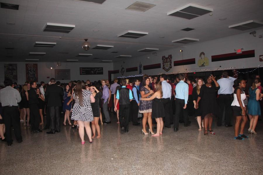 Students enjoy dancing but see other opportunities available for their evening enjoyment, and tend to attend the alternative.