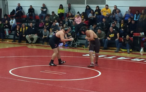 Wrestling Team Defeats Delran in First Round of Sectional Playoffs, 44-18
