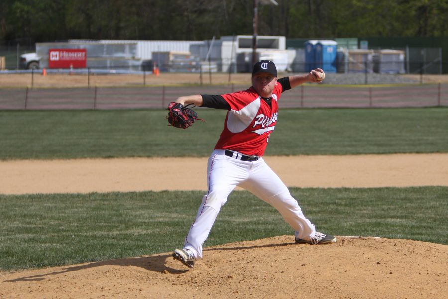 Senior Brandon Staub has brought home three wins, 16 strikeouts and helped to secure numerous shutouts in the 2016 season.