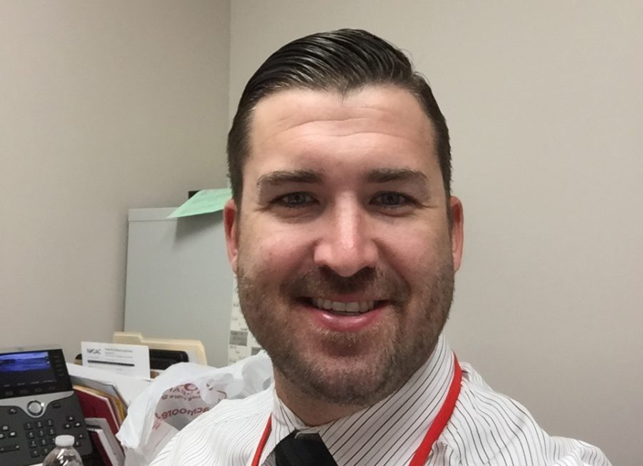 Mike Repsher, new Guidance Counselor at CHS