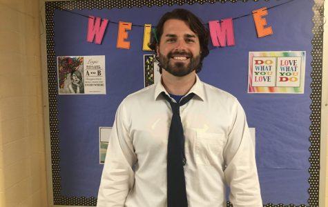 New Teacher Feature – CHS Alumnus, Charles Casey, Math Department
