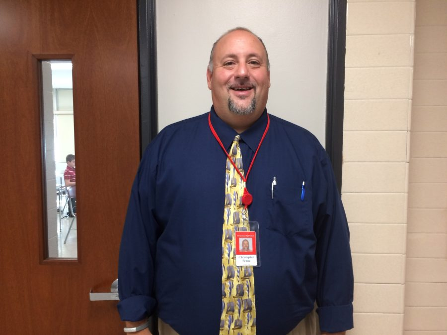 Chris Penna is a new teacher of Special Education here at CHS