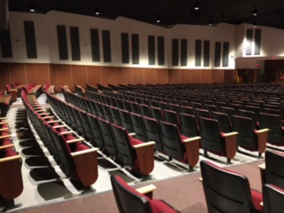 New CHS Auditorium Looks Good, But Still Has Ways to Go
