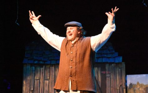 Senior Wes Hopkins played the part of Tevye during Fiddler on the Roof