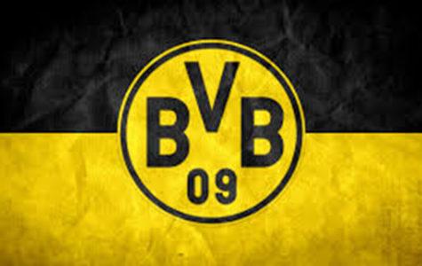 Flag of Borussia Dortmund, German soccer team