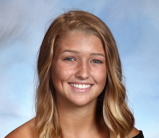 Senior Hailey Gutowski was named an All-American after completing an impressive season leading the CHS girls' soccer team.