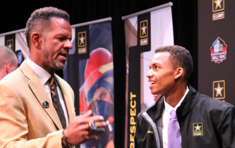 NFL Hall of Famer Andre Reed Comes to CHS to Honor Senior Scholar-Athlete, Justin Arnold