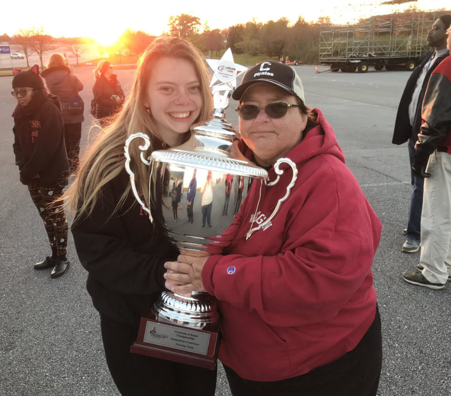 Cinnaminson Marching Band Ends Season as Calvacade of Bands Champions