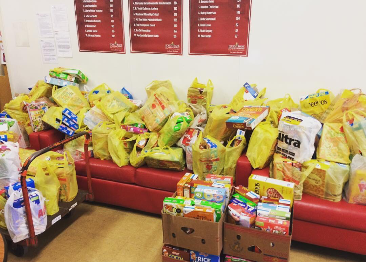 Some+of+the+cereal+donated+to+the+Food+Bank+of+South+Jersey+by+Cinnaminson+Township+Schools