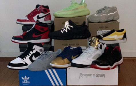 Senior Michael Iannuzzi Looking to Make a Mark in Sneaker Business