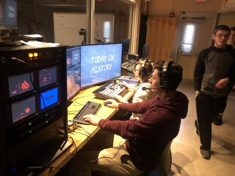 CHS Introduces Broadcast Journalism Elective