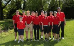 The CHS Golf Team with head coach Bret Jenkins.